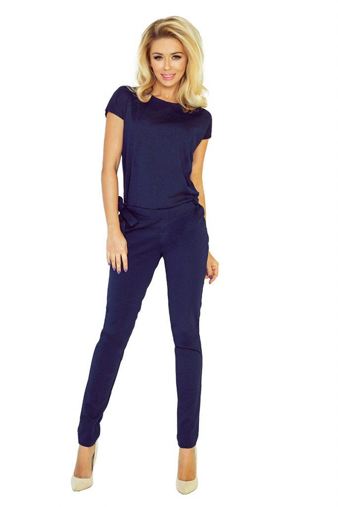 elegant womens navy blue overall