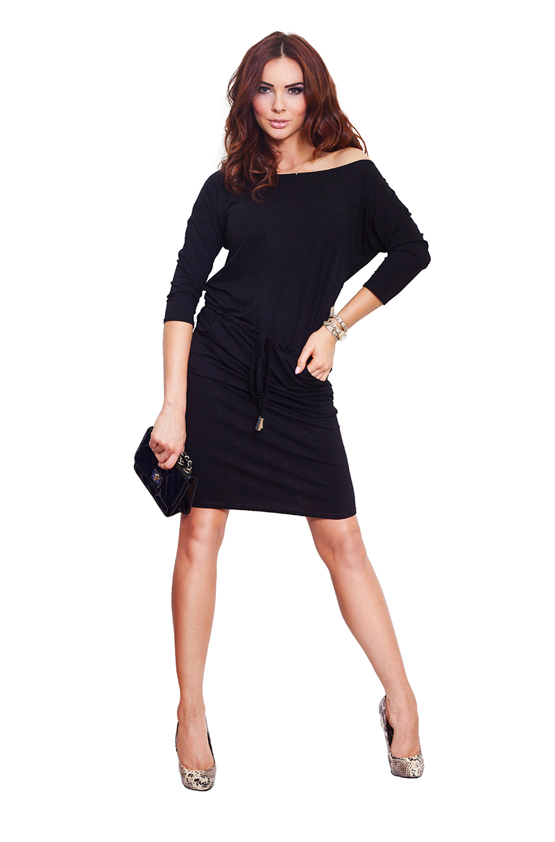 862a6df14d55c7 13-1A Sukienka sportowa - czarna :: numoco